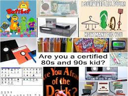 35 Things You Can Design - 35 things that will make kids from the 90s and 80s smile when they