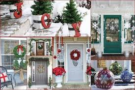 pictures of christmas decorated front porches my web value