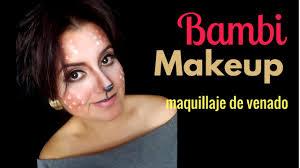 Bambi Halloween Makeup by Venado Bambi Halloween Makeup Gemakeup Youtube