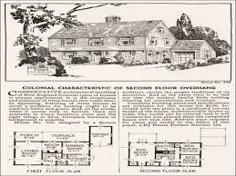 13 1920s vintage home plans antique colonial floor trendy