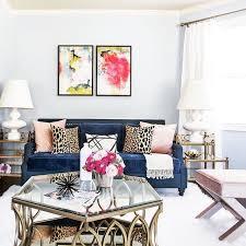sensational design blue couch living room wonderful decoration 21