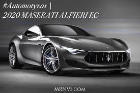 white maserati 2016 automotyvas 2020 maserati alfieri elektra varomas konceptas mrnvs