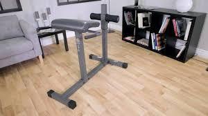 Back Extension Sit Up Bench Roman Chair Hyperextension Bench Jd 3 1 Walmart Com