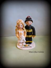 fireman wedding cake toppers s trinketts october 2014