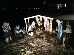 Nativity Sets Outdoor Plastic Lighted Christmas Nativity Set Outdoor 1 U2014 Jen U0026 Joes Design Best