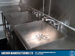 Restaurant Kitchen Sink Installed Anchor Manufacturing LTD - Restaurant kitchen sinks