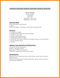 Resume Examples For College Students Internships 36 Sample College Resumes Sample Resume Format For Fresh