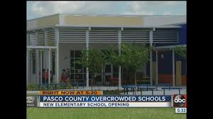 new elementary easing overcrowding in wesley chapel schools