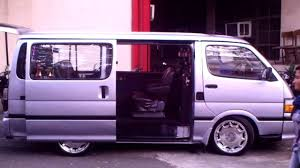 customized toyota hiace commuter diesel youtube