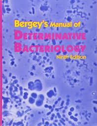 bergey u0027s manual of determinative bacteriology john g holt phd