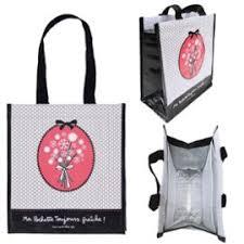 idee cadeau cuisine sac à lunch isotherme ma pochette toujours fraîche miss chic gris