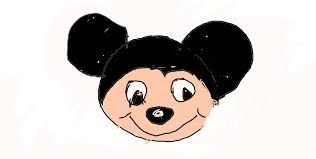 mickey mouse face derpystudios draws deviantart