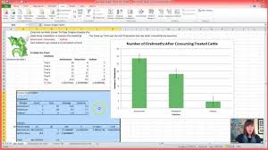 how to make anova table in excel how to run a one way anova in excel youtube