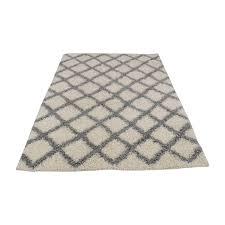 34 off varanas varanas grey and blue runner rug decor