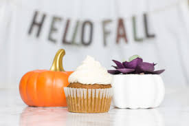Pumpkin Cupcakes by Pumpkin Cupcakes With Brown Butter Buttercream Treats U0026 Trends