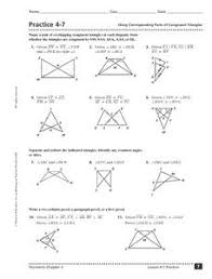 printables triangle congruence worksheet eatfindr worksheets