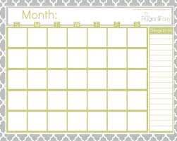 25 unique free blank calendar ideas on pinterest blank monthly