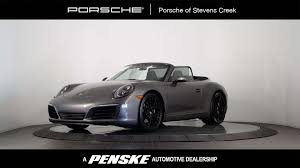 porsche 2017 white new porsche 911 at porsche of stevens creek serving santa clara