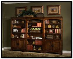 Office Bookcases With Doors Office Furniture Wall Shelves Home Design Ideas
