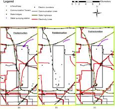 framework for modeling urban restoration resilience time in the