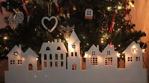 how to make a paper christmas village diy crafts tutorial