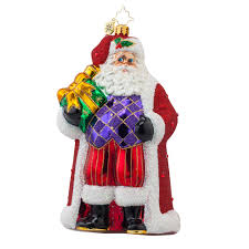 christopher radko ornaments 2016 radko majestic nicholas