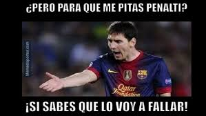 Memes Sobre Messi - lionel messi memes barcelona penal deportes trome pe
