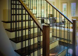 rod iron stair railing rod iron stair railing in modern touch