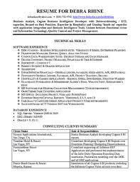 Resume Sample Quality Control Inspector by Business Analyst Resume Samples Resume For Your Job Application