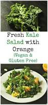 fresh kale salad with orange nutrizonia