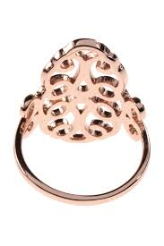 ornament ring vergoldet