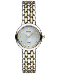 bracelet seiko images Seiko women 39 s dress solar two tone stainless steel bracelet watch tif