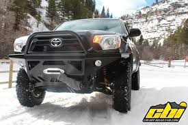 toyota tacoma front bumper guard moab 2 0 with grill guard cbi offroad fab