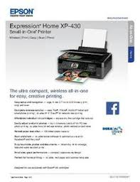 epson expression home xp 430 wireless color inkjet small in one