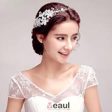 bijoux tete mariage accessoire mariage avec bijoux mariage strass luxe accessoire de