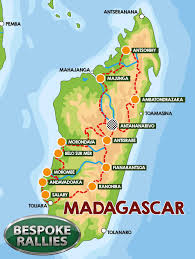 Madagascar Map Magical Madagascar 2019