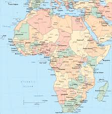 Africa Colonial Map by Africa Map