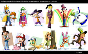 hats makes the character by xeternalflamebryx on deviantart