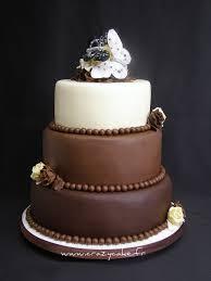 chocolate wedding cake devil chocolate cake filled with ra u2026 flickr