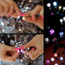 christmas accessories flower led earrings ear stud for party christmas