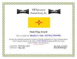 Nm State Flag Omiss U2013 State Flags U2013 Kf7ba