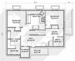 open floor house plans with walkout basement ranch open floor plans new house plan 100 house plans ranch