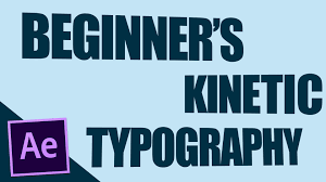 Tutorial Kinetic Typography After Effects | beginner s kinetic typography after effects tutorial youtube