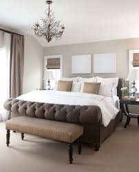 Gold And Silver Bedroom by Marvelous Tufted Sleigh Bed In Bedroom Contemporary With Tufted