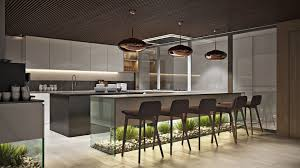 Office Kitchen Designs Office Kitchen Design Rendering In Chocolate Hues Archicgi