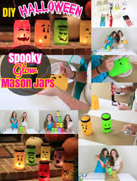 Mason Jar Halloween Diy Mason Jars Spooky Halloween Mason Jar Luminaries Diy Craft