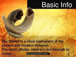shofar from israel shofar presentation israel mission trip 2013