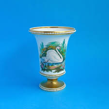 Spode Vases Fine English Antique Porcelain Regency Victorian 19th Century