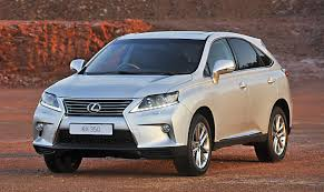lexus suv in south africa lexus rx350 special edition a 4x4 for outdoor fashionistas