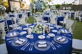 blue and silver wedding royal blue and silver wedding decorations flora botanica designs 7